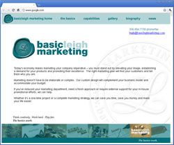 Basic Leigh Marketing serving Greensboro, Winston Salem, High Point and beyond